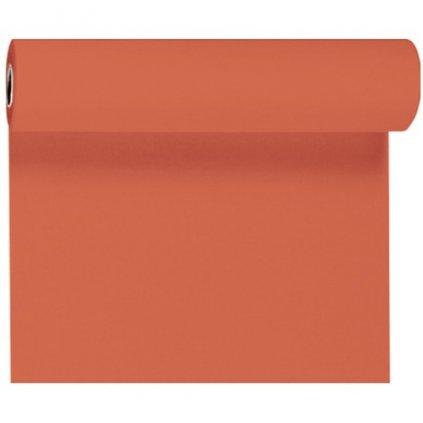 Šerpa na stůl Dunicel oranžová 40cmx4,8m