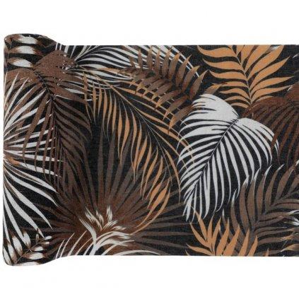 Šerpa stolová Jungle s palmovými listy 3m