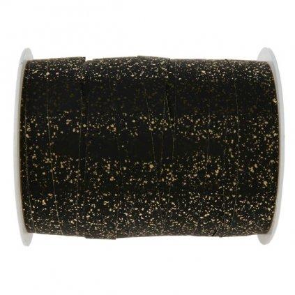 STUHA vázací se třpytkami černá 1cm/25m 1ks