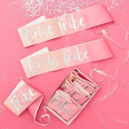 Šerpa Bride Tribe růžové ombre 6ks