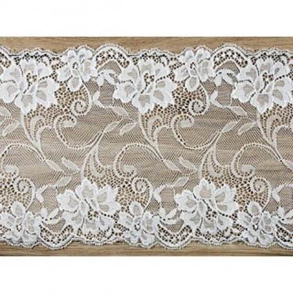 Krajka dekorační Ivory 18cmx9m