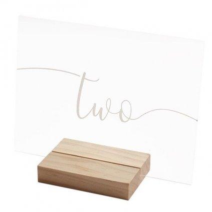 Cedulky na stůl nápis 1-12