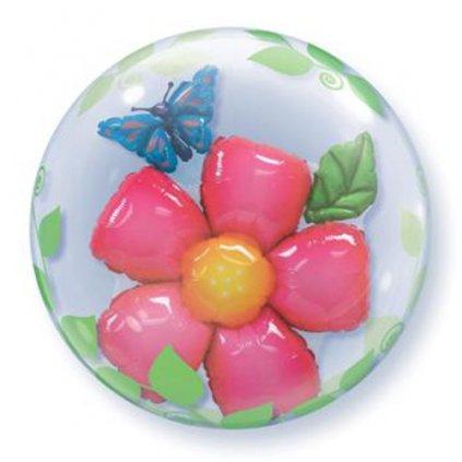 Balonek Bubbles 3D Květ