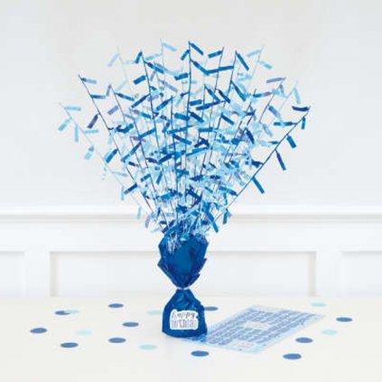 Balonkové těžítko modré se samolepkami k označení
