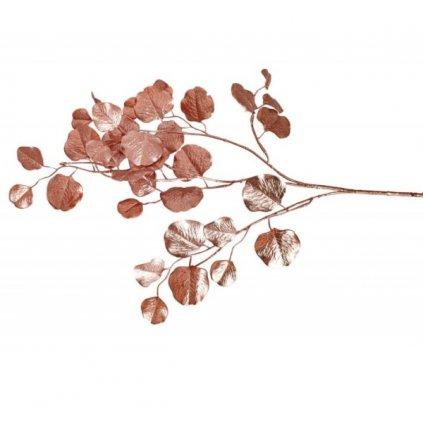 EUKALYPTUS metalický Rose Gold 84cm