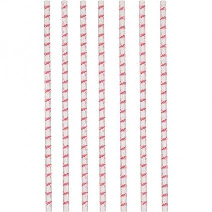 BRČKA papírová Flamingo Paradise 12ks