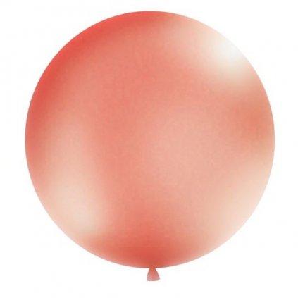 Balón kulatý obří o průměru 1 m rose gold