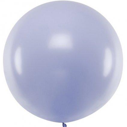 Balón kulatý obří z přírodního latexu o průměru 1 m lila