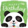 Balonek Happy Birthday Panda fóliový