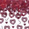 Konfety 15g srdce červená