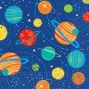 Ubrousky papírové Vesmír planety 25x25cm 16ks
