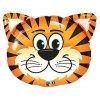 BALÓNEK FÓLIOVÝ hlava tygra