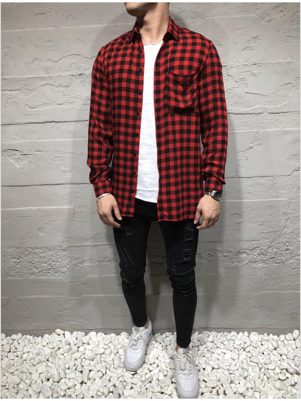 Košile Kepr - červená
