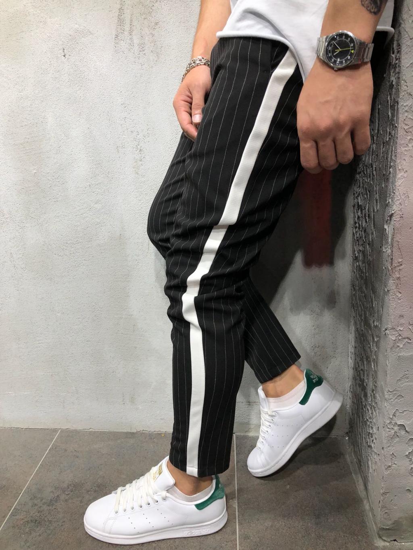 Kalhoty Saman - černé