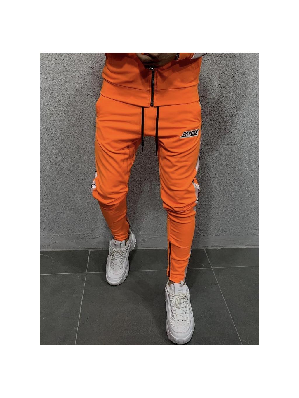 Tepláky Studio - oranžové