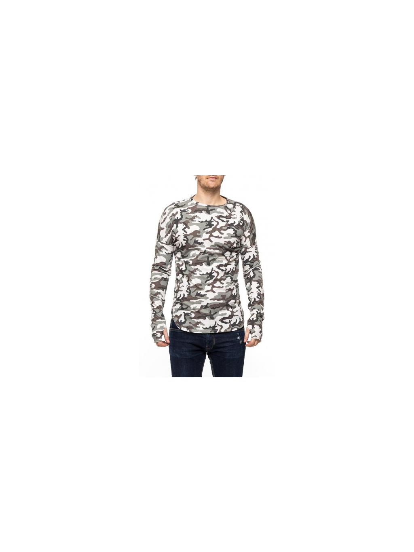 frilivin t shirt imprime camouflage white 2 500x500