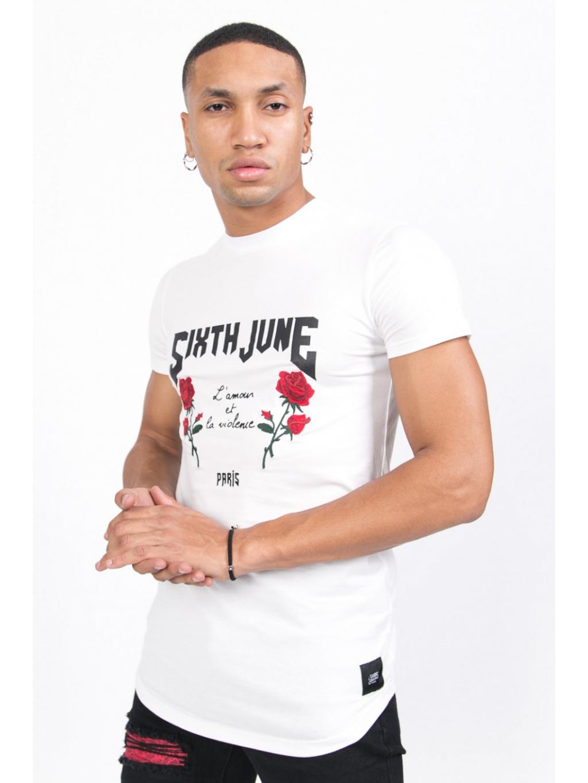 sixthjune tshirt m3250vts wh 5