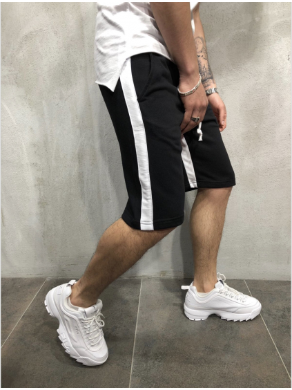 Kraťasy Vivo - černobílé