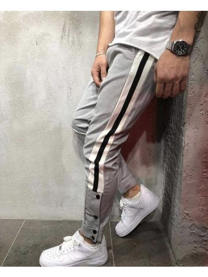 Kalhoty Dexter - šedé