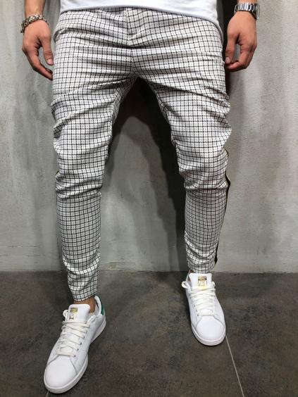 Kalhoty Jack - bílé