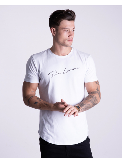 Tričko Signature - bílé