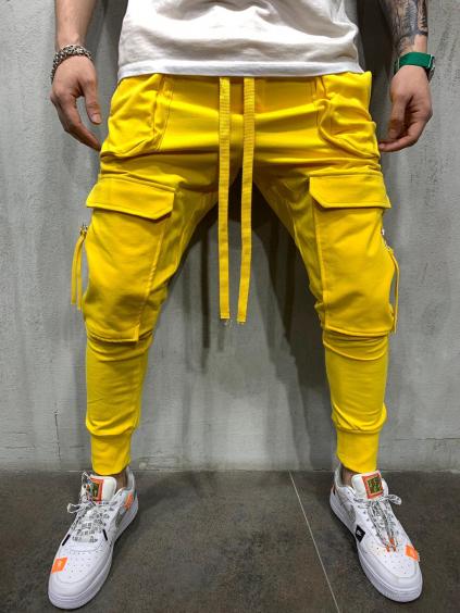 Tepláky Sow - žluté