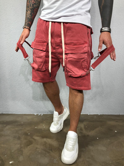 Kraťasy Promo - červené