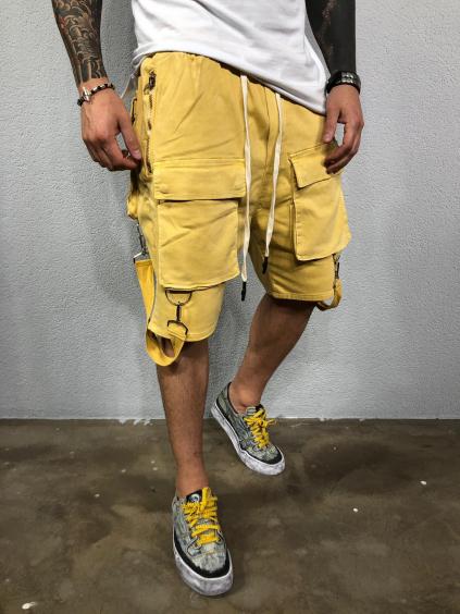 Kraťasy Promo - žluté