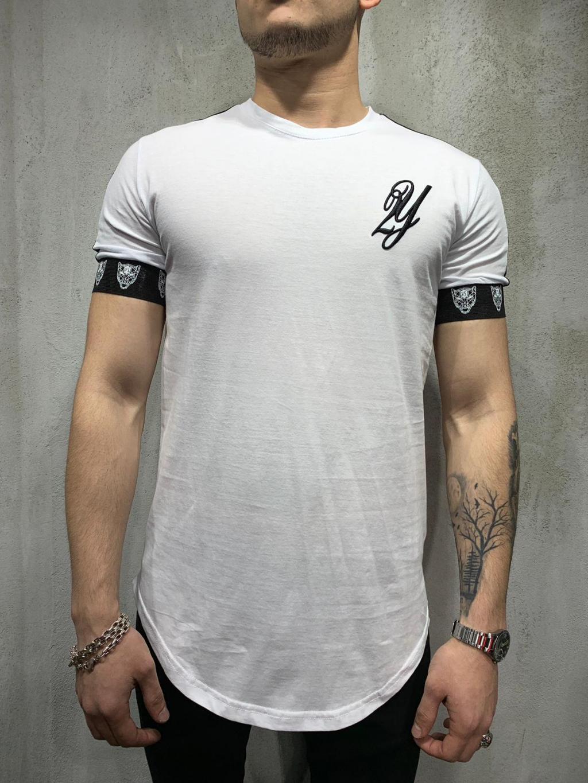 Tričko Track - biele