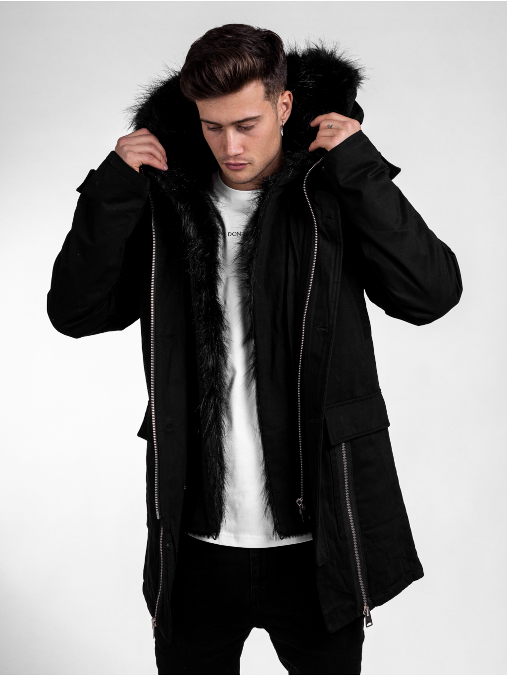 Parka All Black