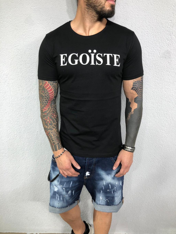 Tričko Egoiste - čierné