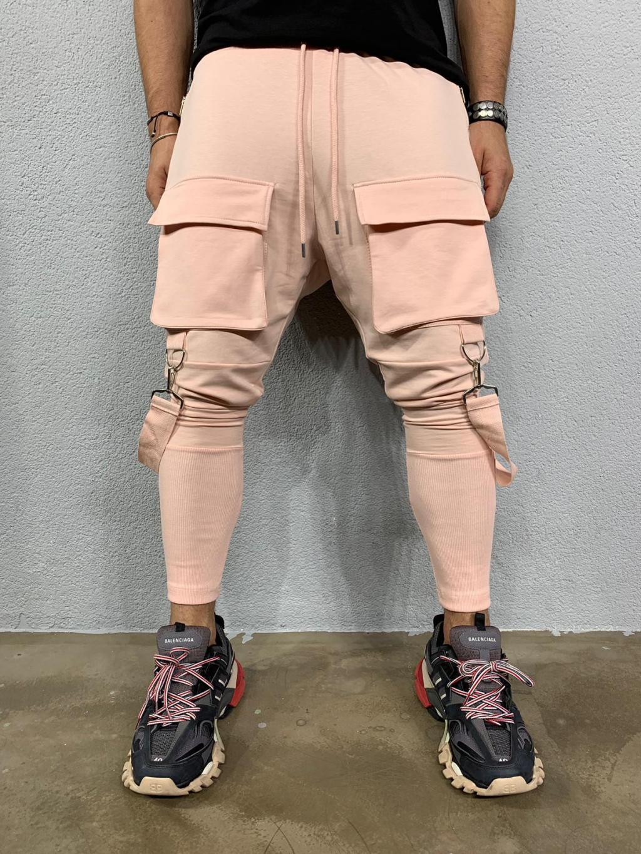 Tepláky Cash - ružové