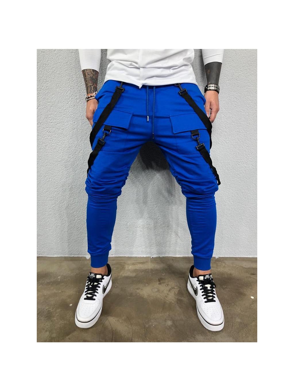 Tepláky Hall - modré