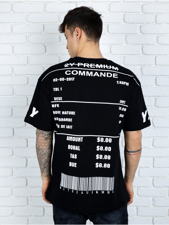 Tričko Part - čierné