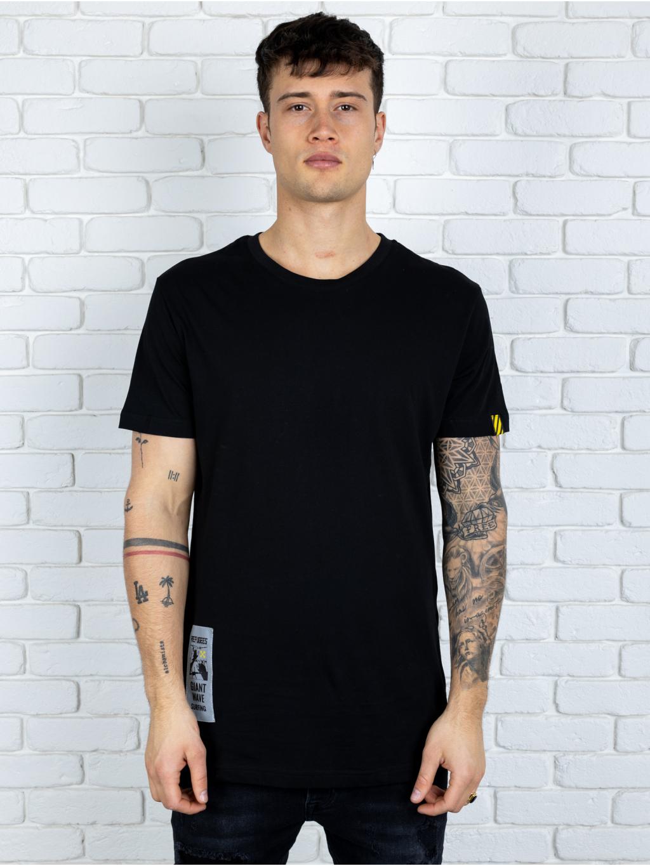 Tričko Refugees - čierné