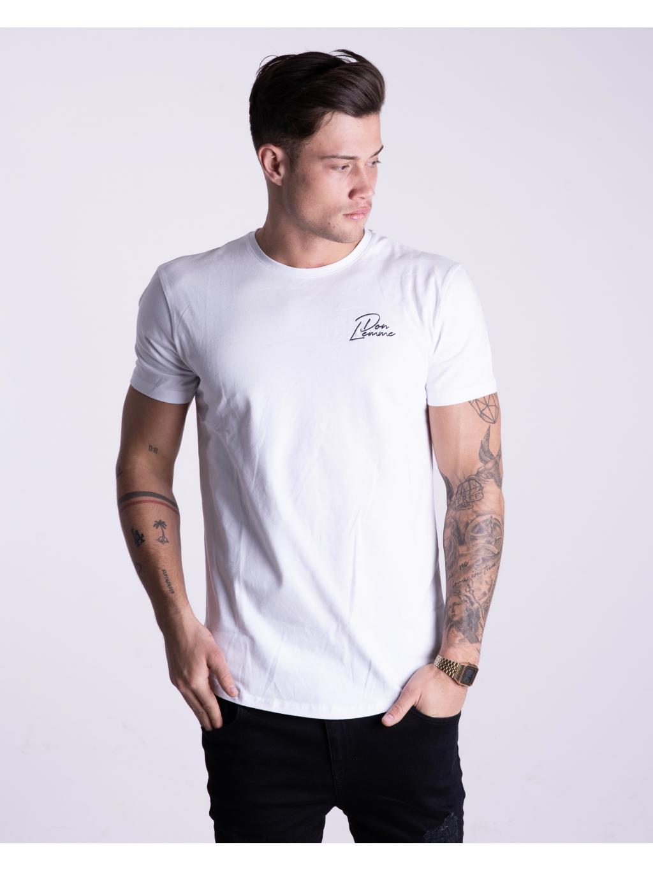 Tričko Logo - biele (Velikost XL)