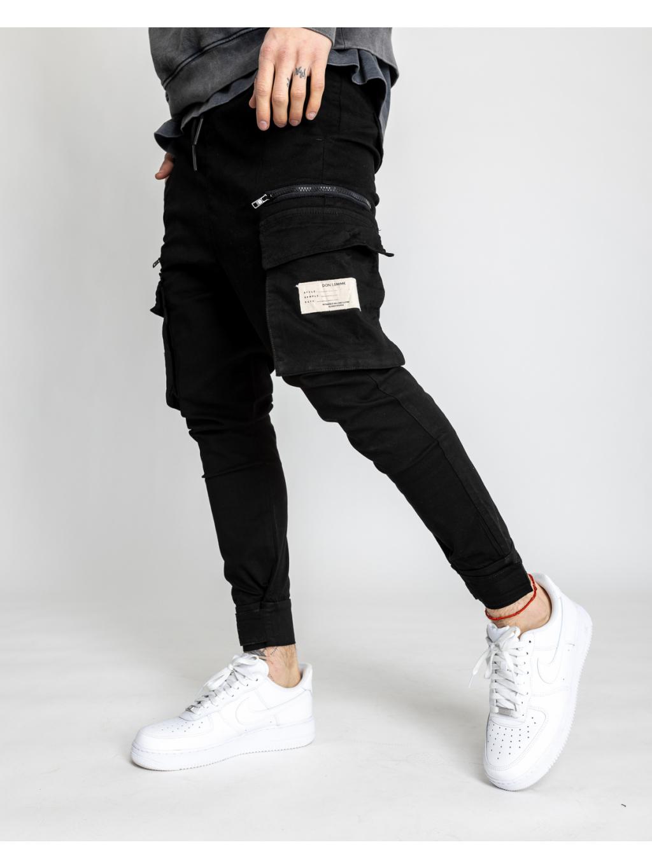 Nohavice Multi - black