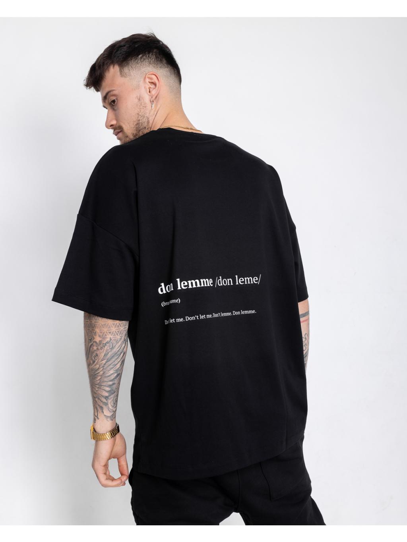 Unisex Tričko Name - čierne
