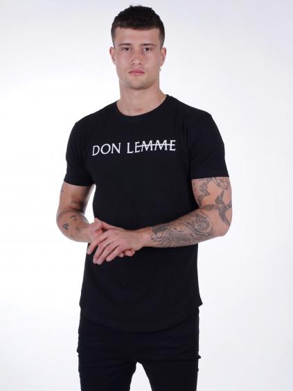 Tričko Brand - čierne