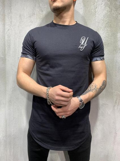 Tričko Public - čierne