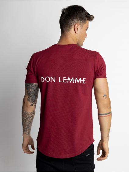 Tričko Rear - vínové