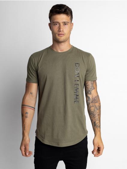 Tričko Give - khaki