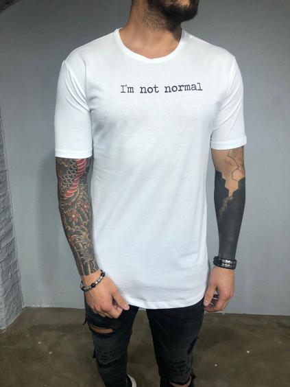 Tričko Normal - bielé