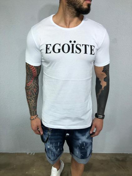 Tričko Egoiste - bielé