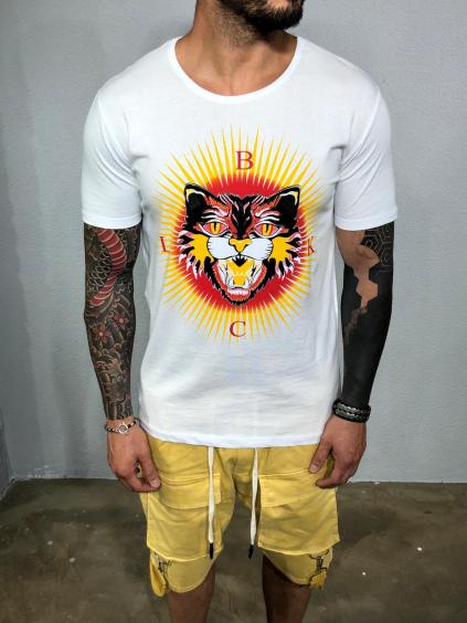Tričko Sun - bielé