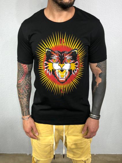 Tričko Sun - čierné