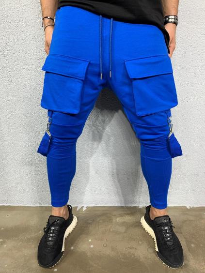 Tepláky Cash - modré
