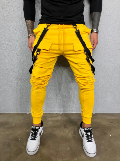 Tepláky Hall - žlté