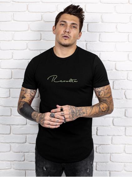 Tričko Revolta - čierné