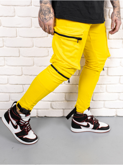 Tepláky Freak - žlté
